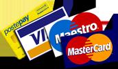Tarocchi dal vivo con la carta di credito